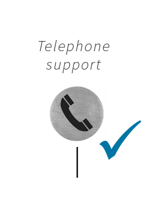 telephone support