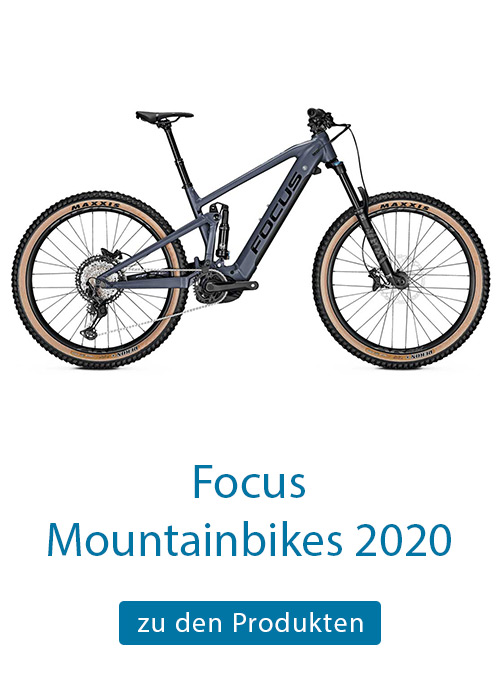 E-Mountainbikes Focus 2018